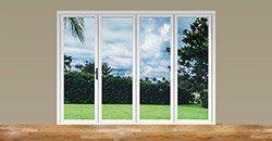 aluminum folding patio doors | 4 panel door | Aluminum