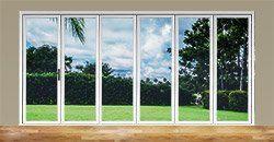 aluminum folding patio doors | 6 panel door | Aluminum