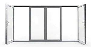 aluminum folding patio doors | Options Swing | Aluminum