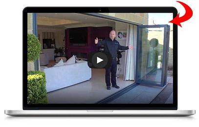 aluminum folding patio doors | LAPTOP VIDEO most innovative doors 1 opt med | Aluminum